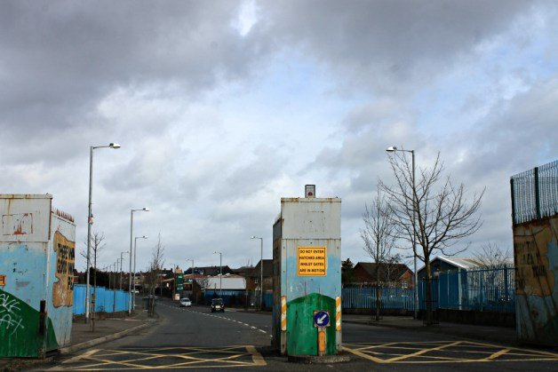 Puertas separatorias - Qué ver en Belfast