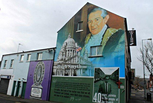 Shankill Road en Belfast