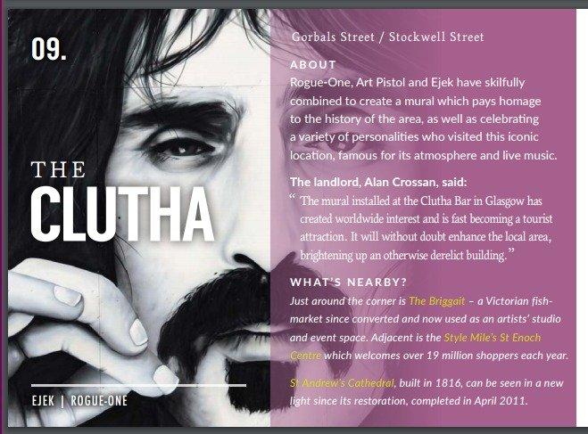 The Clutha - Ruta de los murales de Glasgow