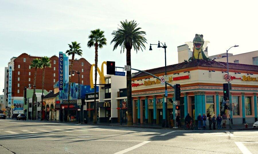 Calles de Hollywood que parecen sets de rodaje