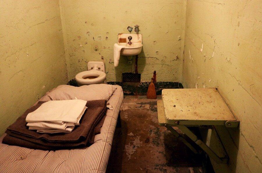 Celda de la prisión de Alcatraz - Visita imprescindible en San Francisco