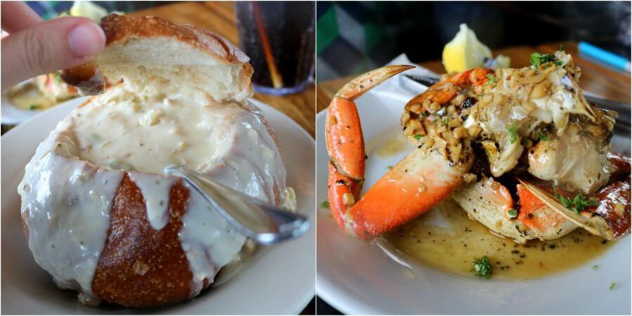 Comer en Fisherman's Wharf en San Francisco - Pier Market
