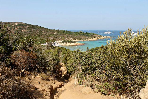Complicado acceso a una de las mejores playas de Cerdeña
