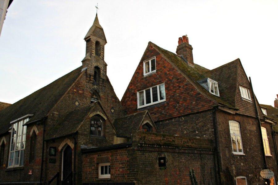 Construcciones de ladrillo que ver en Rye Inglaterra