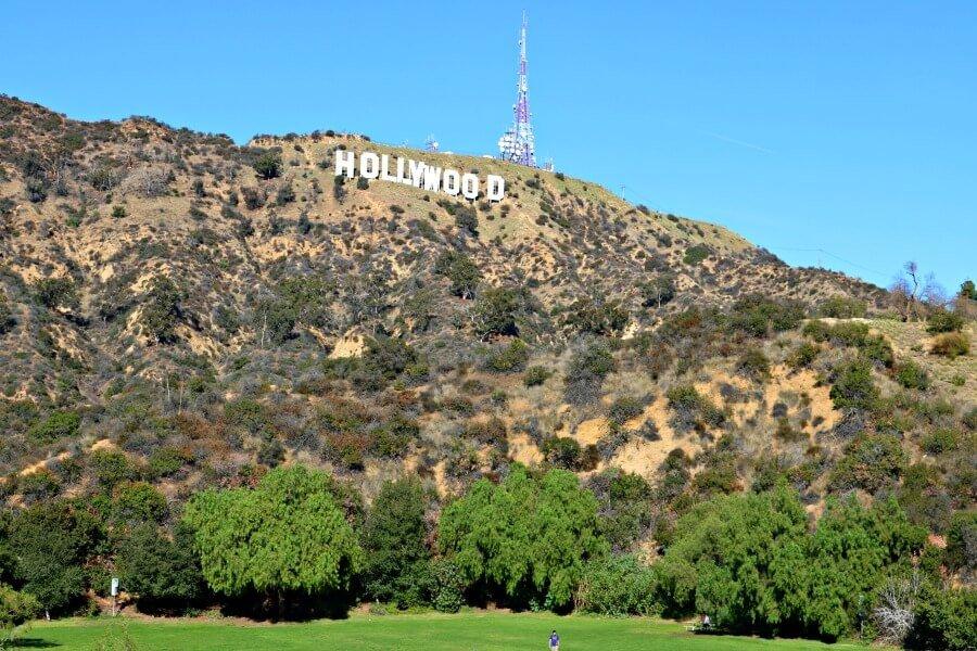 Dónde ver el letrero de Hollywood