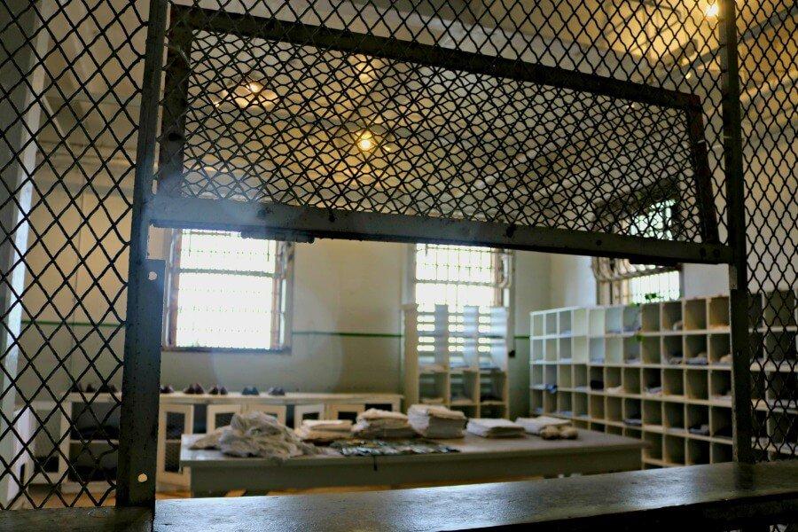 Economato de la cárcel de Alcatraz