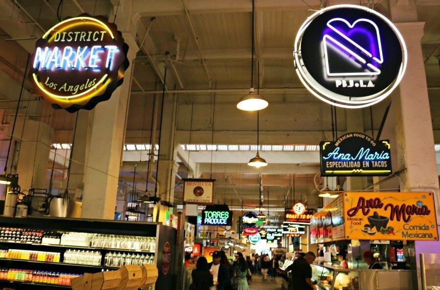 Grand Central Market - Qué hacer en Los Ángeles