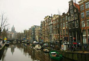 La foto de la semana es Ámsterdam y sus canales
