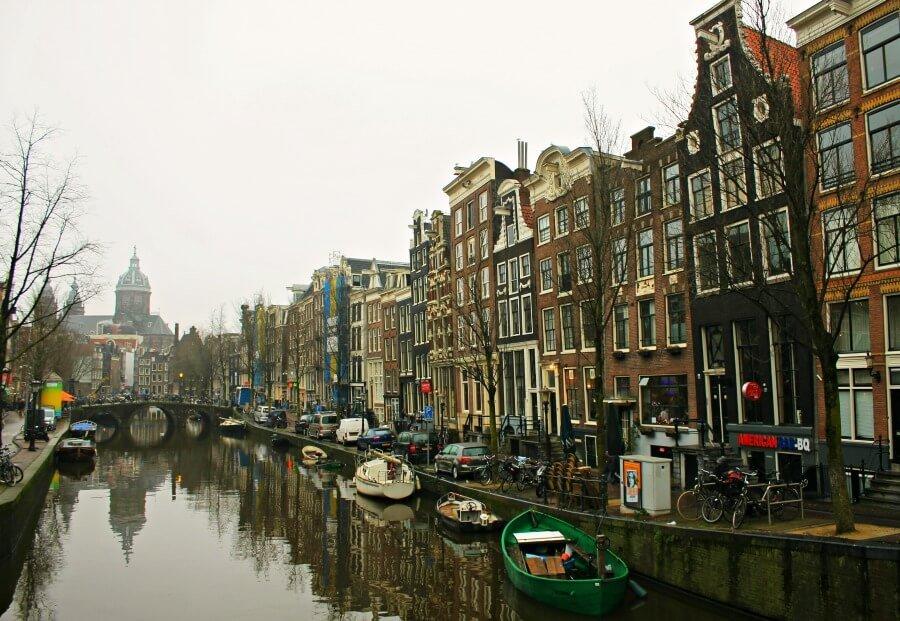 Ámsterdam y sus canales