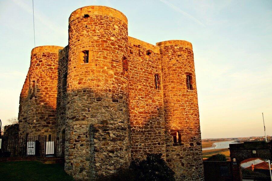 La Torre Ypres de Rye, uno de los pueblos más bonitos de Inglaterra