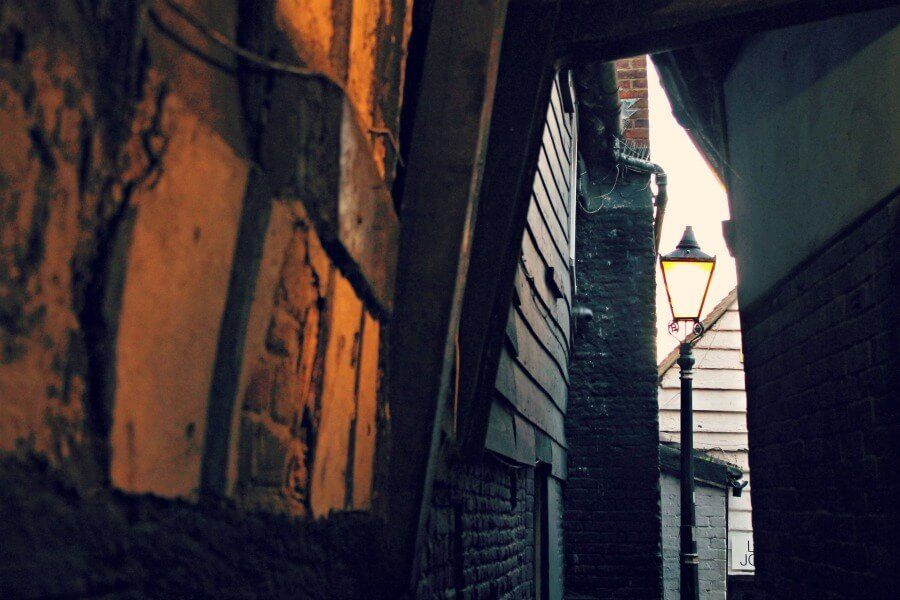 Needles Passage en Rye Inglaterra