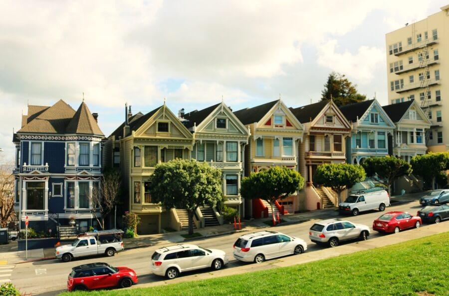Painted Ladies, las Damas Pintadas - Qué ver en San Francisco
