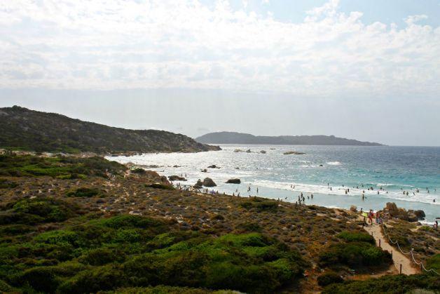 Playa de La Maddalena en Cerdeña