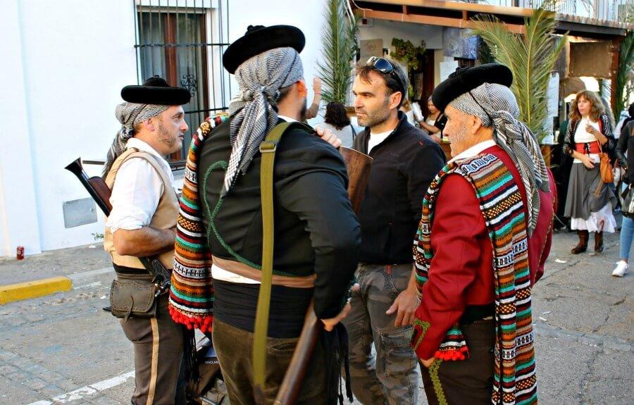 Recreación histórica en El Bosque - Pueblos de Cádiz