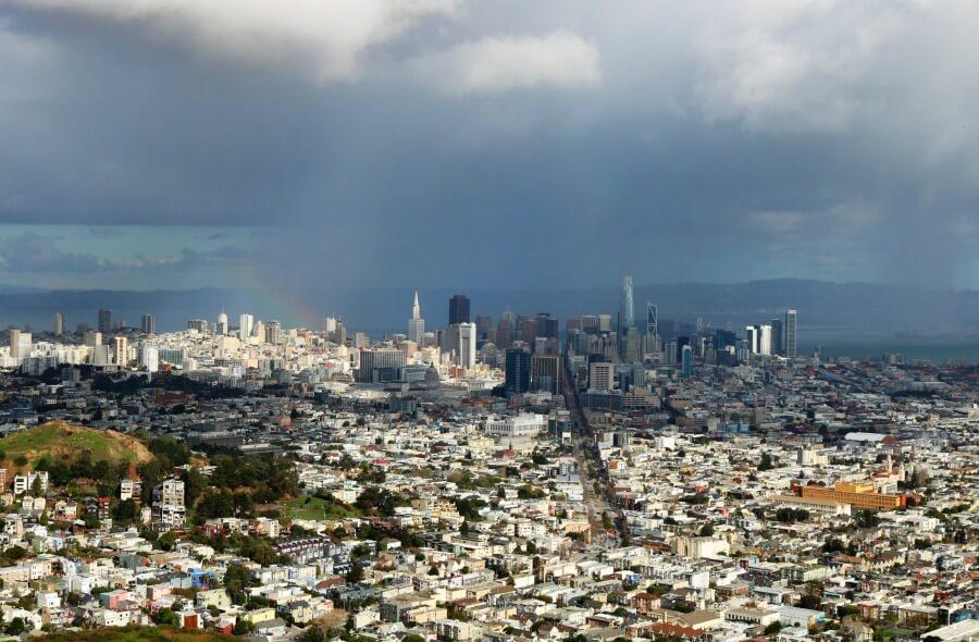 San Francisco desde las Twin Peaks