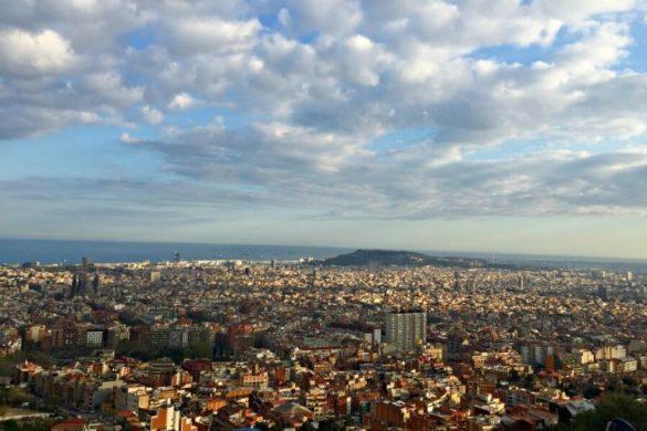 Vistas desde los búnkers del Carmel - Qué hacer en Barcelona