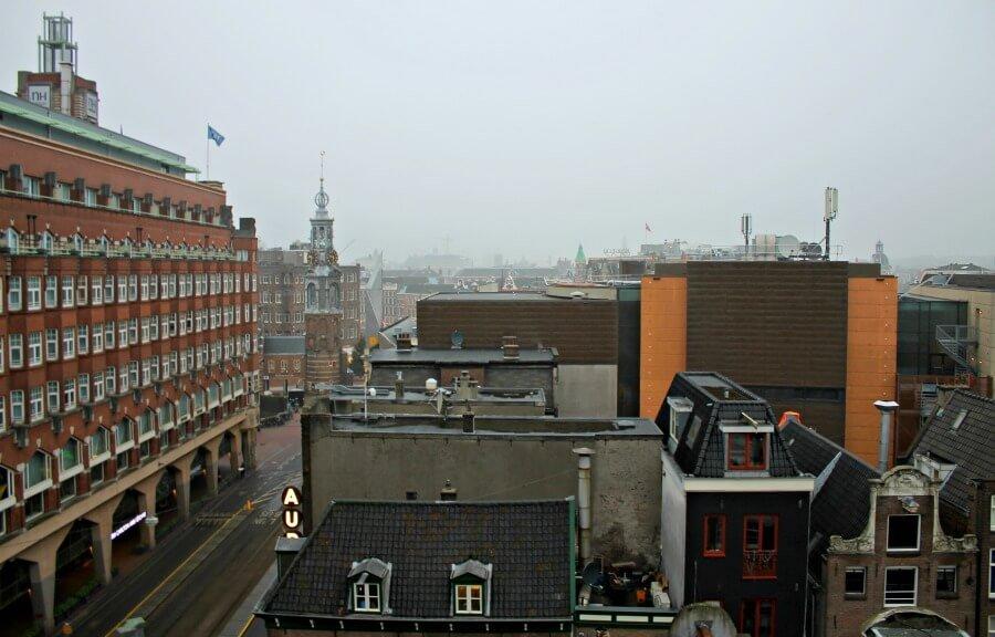 Vistas desde nuestra ventana en el The Albus - Alojamiento en Ámsterdam
