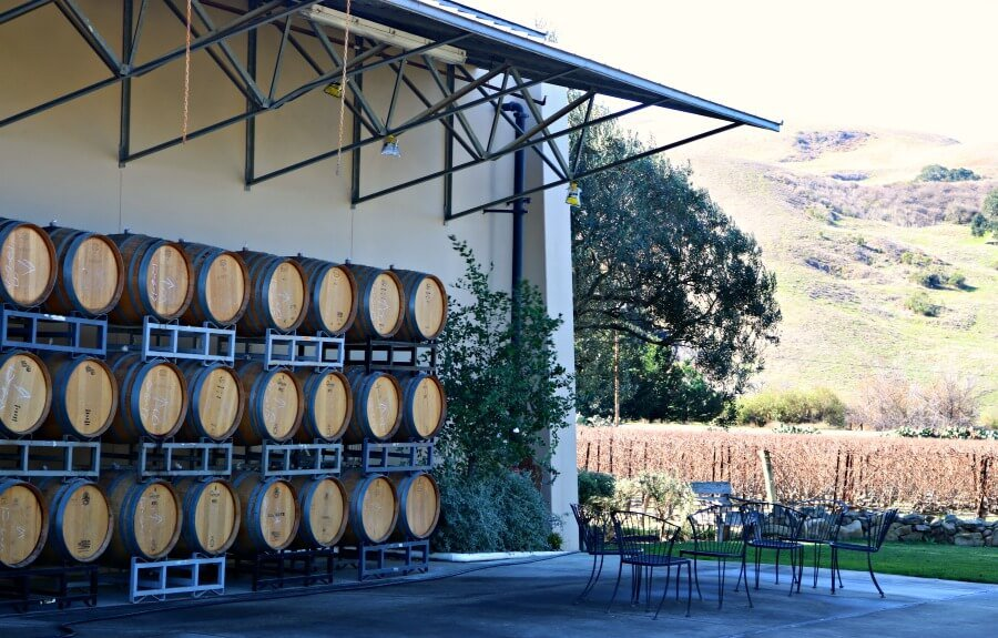 Bodegas de vino de California