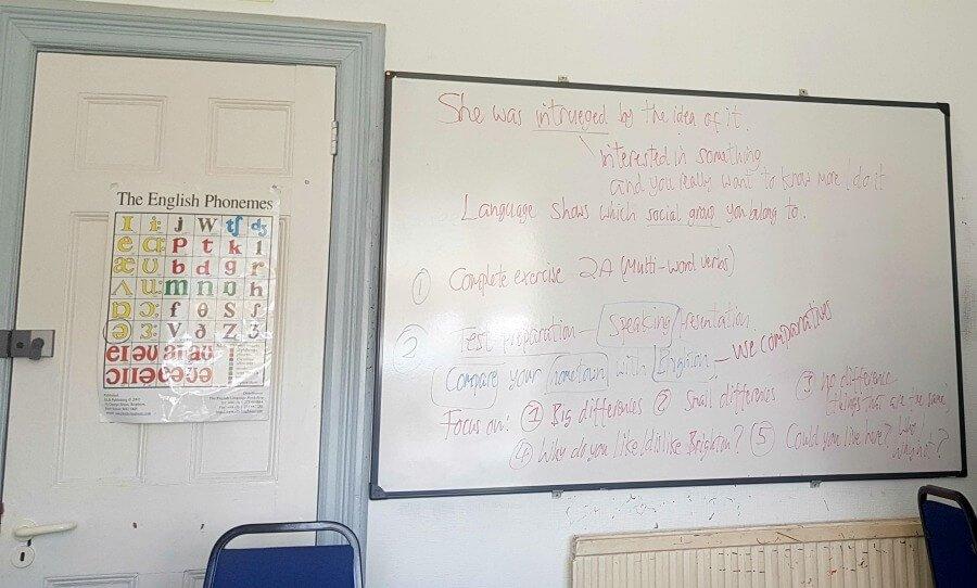Clases de inglés en Brighton