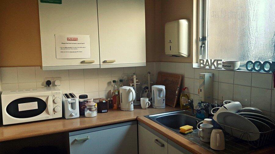 Cocinita para los estudiantes de inglés en Sprachcaffe