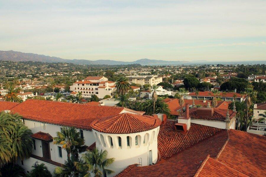 Vistas de Santa Bárbara desde la Torre del Reloj