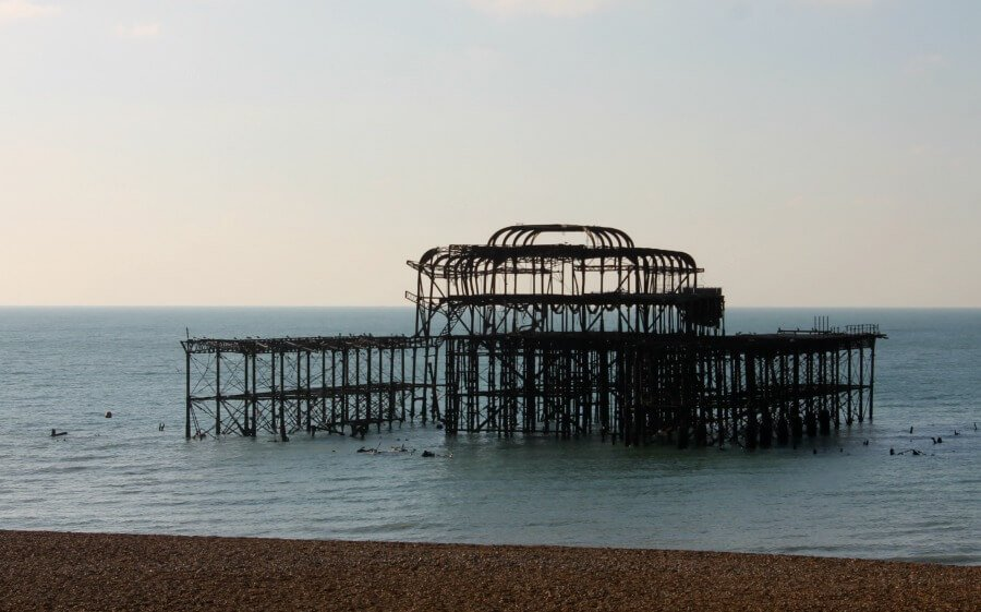 Antiguo embarcadero de Brighton