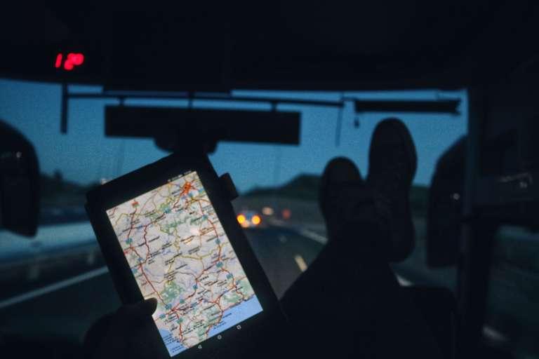 Autobús nocturno de Sevilla a Madrid