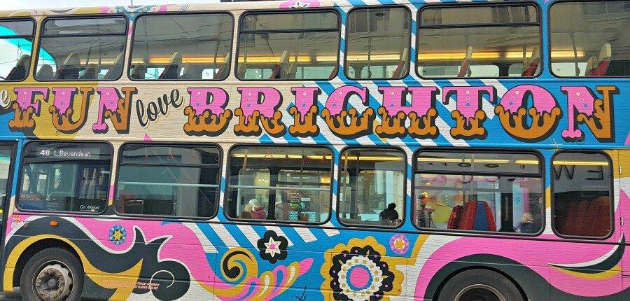 Autobuses hipster en Brighton