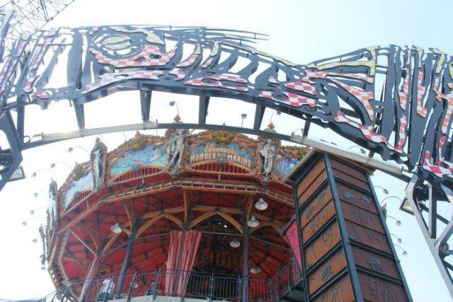 Carrusel del mundo marino de Nantes