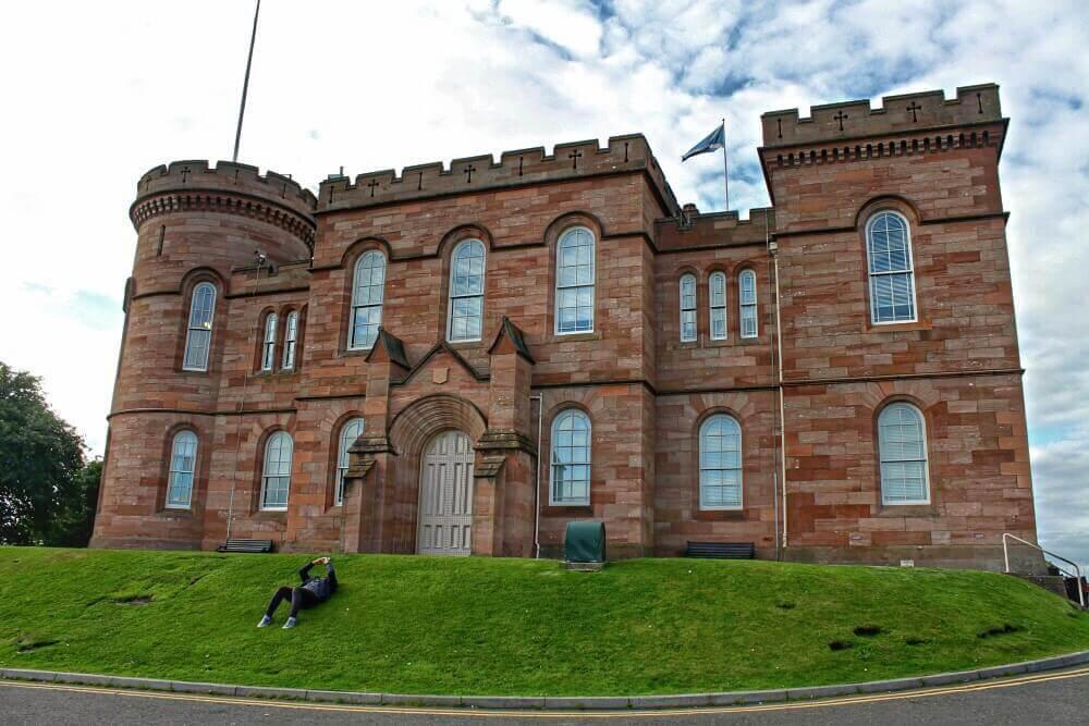 Castillo de Inverness - Ruta por los castillos de Escocia