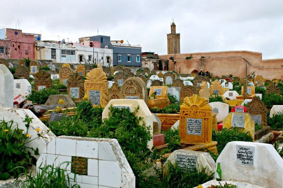 Cementerio de Rabat - Marruecos
