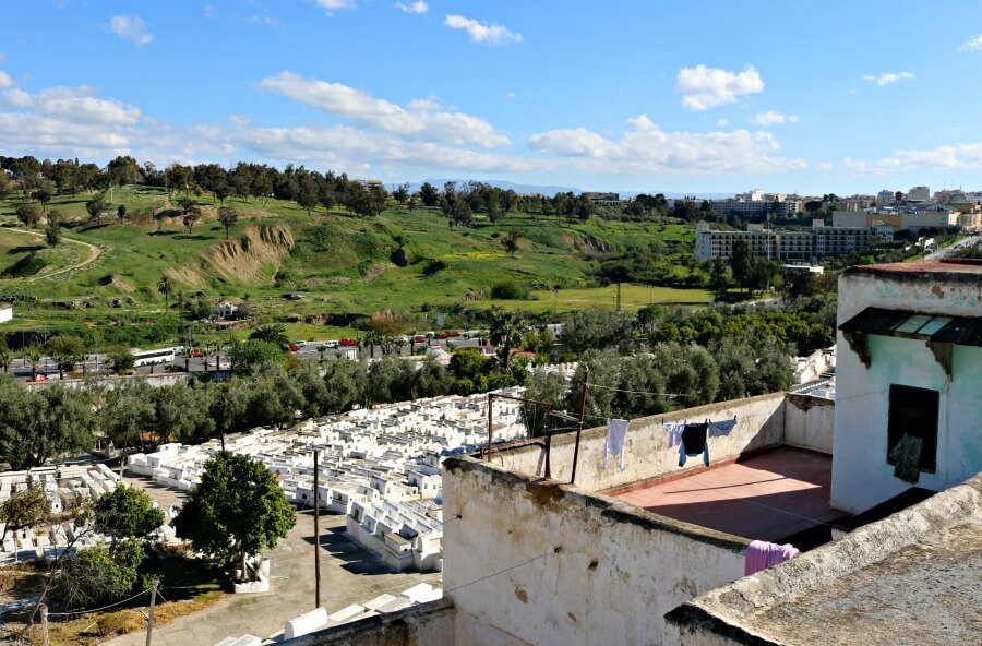 Cementerio judío en el Mellah de Fez