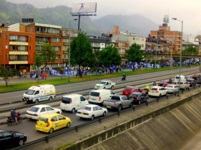 El tráfico en Colombia y sus carreteras
