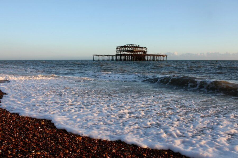 El West Pier, el antiguo embarcadero - Qué ver en Brighton