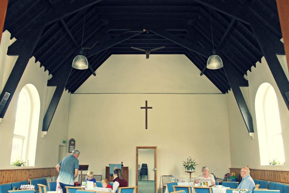 Iglesia - cafetería en Broadway, Inglaterra