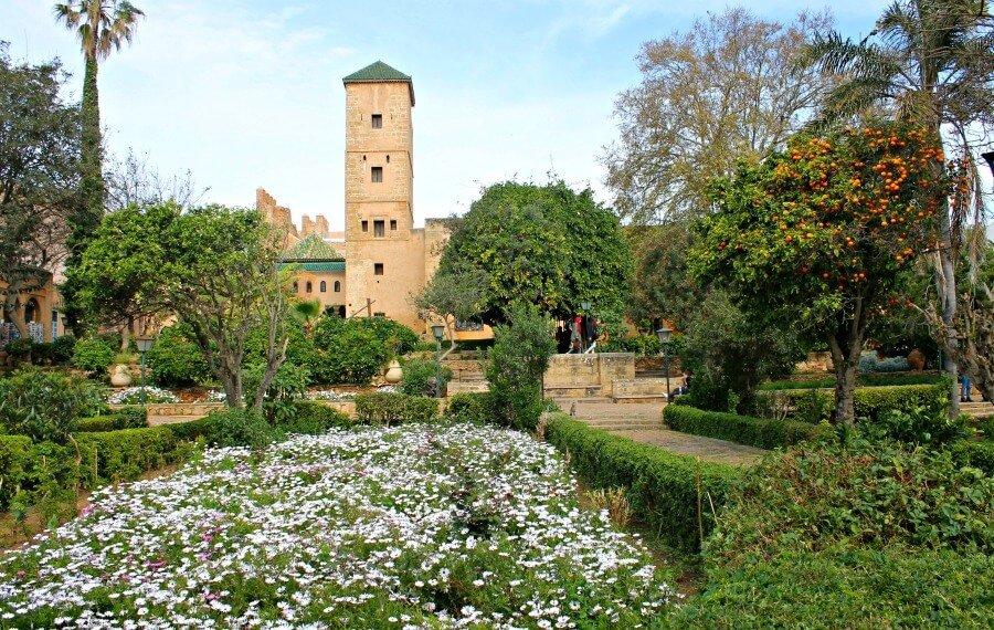 Jardines Andaluces - Qué ver en Rabat