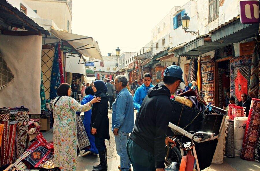 La ajetreada Medina