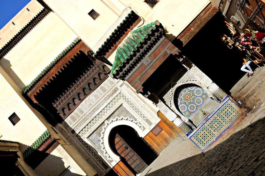 La fuente más antigua de Fez en la Plaza Nejjarine