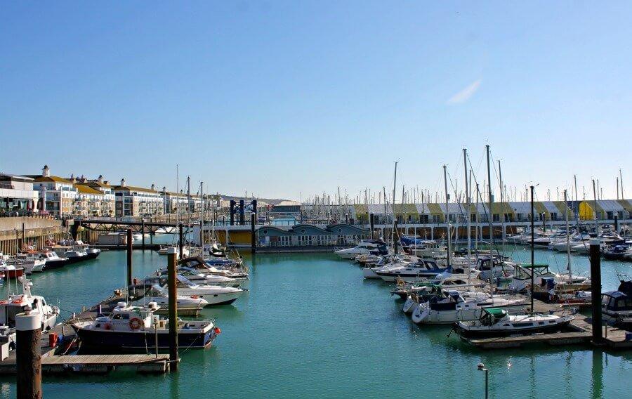La Marina de Brighton, el puerto deportivo