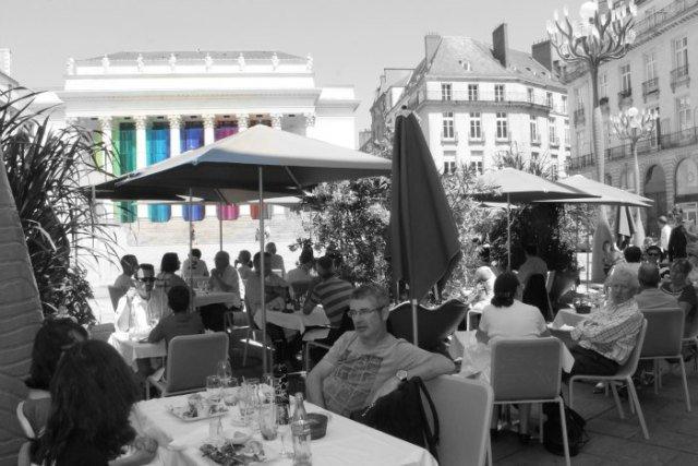 La Place Graslin de Nantes