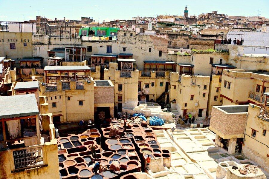 Las curtidurías de Fez, Curtiduría Chouwara