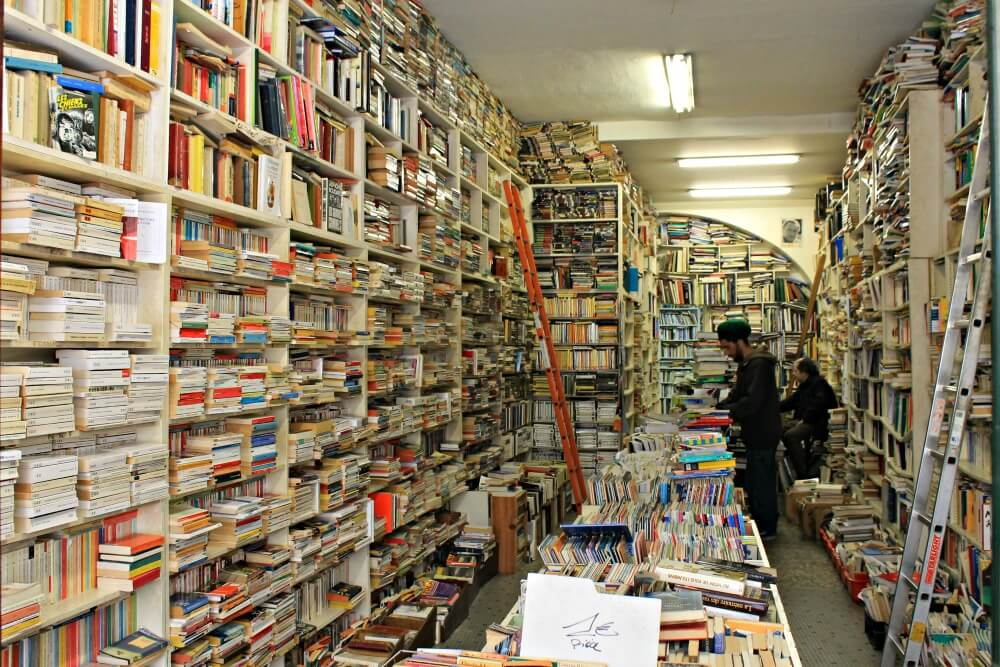 Librería árabe en la Rue Sainte Catherine de Burdeos