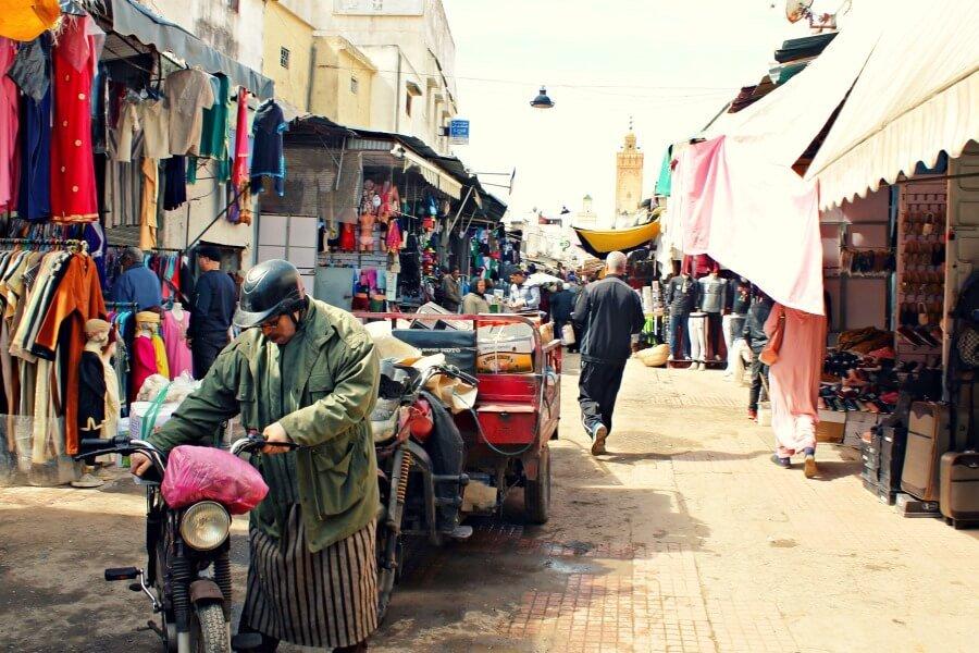 Medina, Avenida Mohammed V Rabat