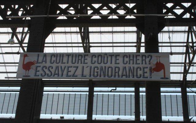 Mensajes bastante claros en francés