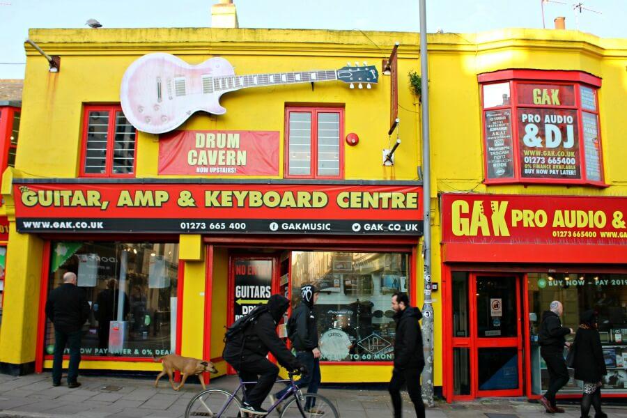 Tiendas con encanto en los Lanes de Brighton