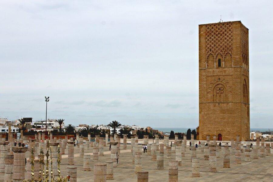 Torre Hassan - Imprescindibles que ver en Rabat