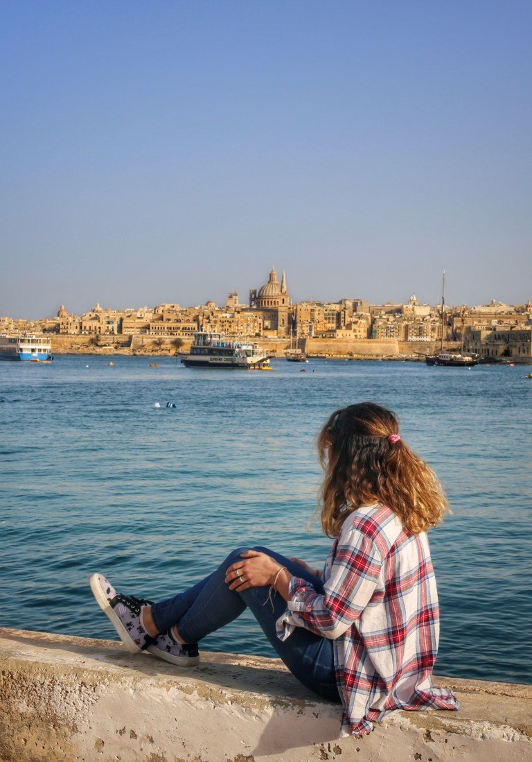 Vistas a La Valleta desde Sliema
