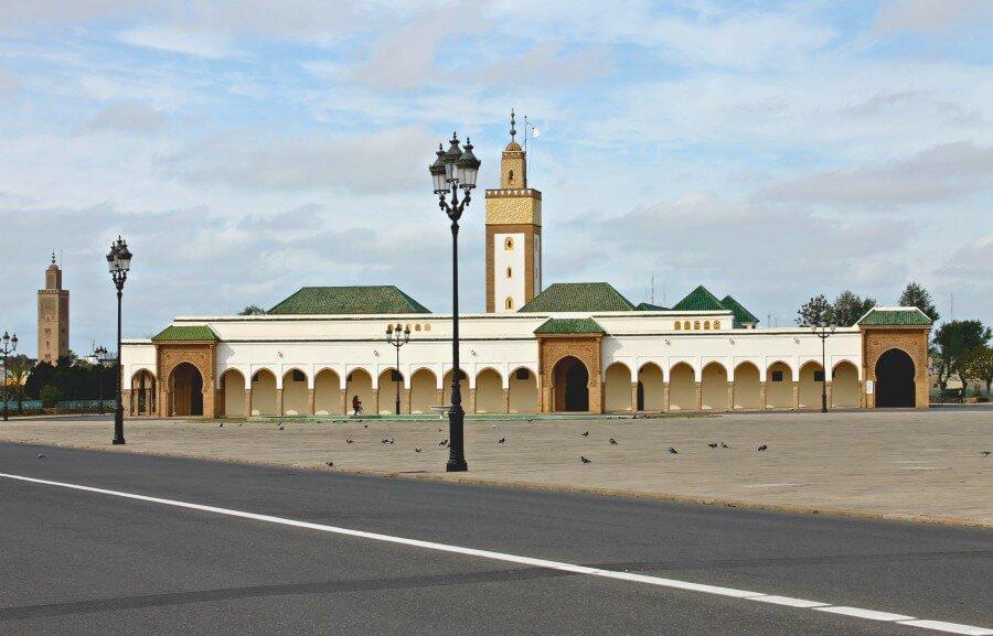 Zona de Mechouar en Rabat
