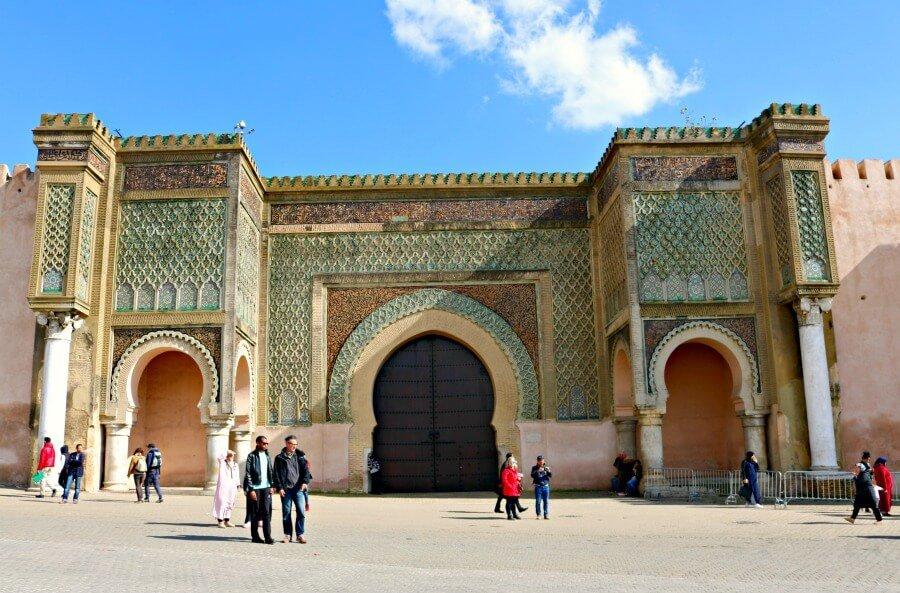 Bab Mansour - La puerta de Meknès