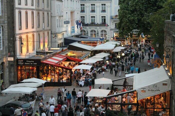 Calles de Saint-Malo - Ruta por la Bretaña francesa